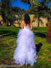 Sphère Web-Jeune mariée