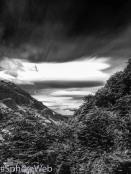 Sphère Web-nuages en patagonie