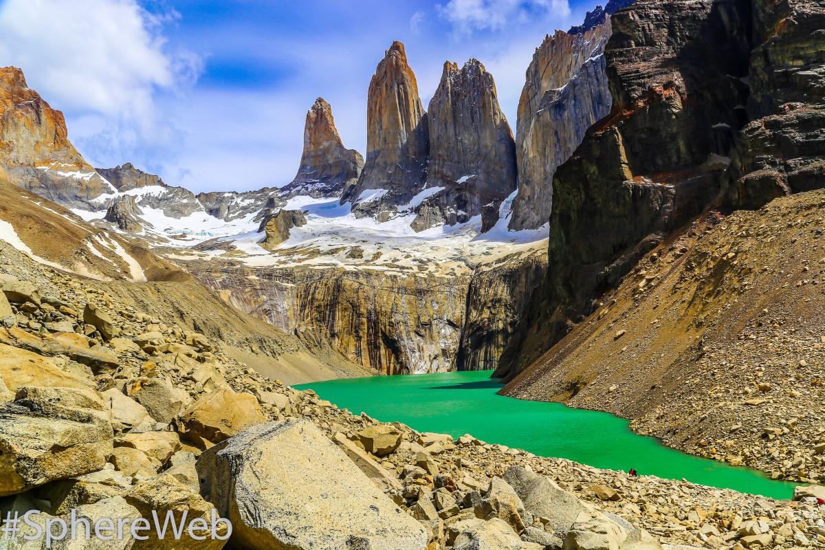 Sphère Web-Torres del Paine en Patagonie