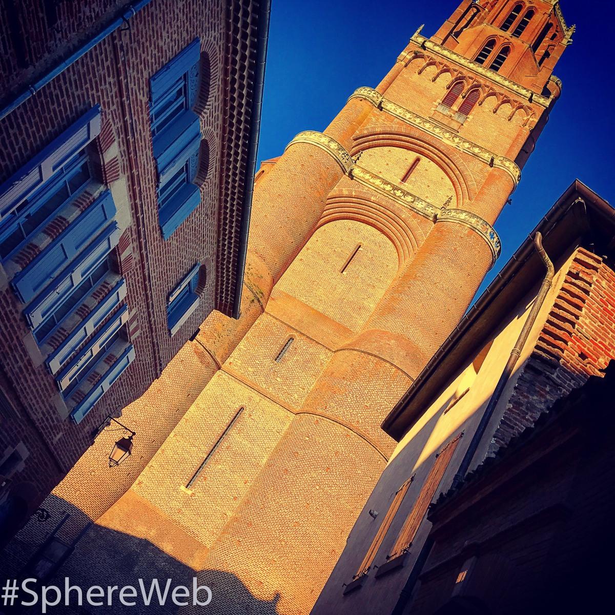Sphère Web-Cathédrale d'Albi
