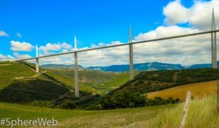 Sphère Web-Pont de millau